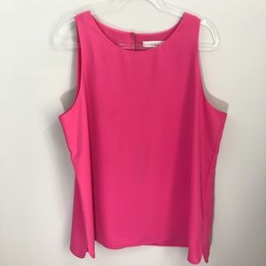 Ann Taylor LOFT Pink Blouse XL